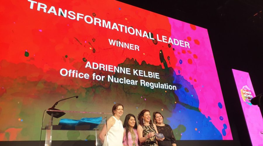 Adrienne Kelbie recognised at Northern Power Women Awards
