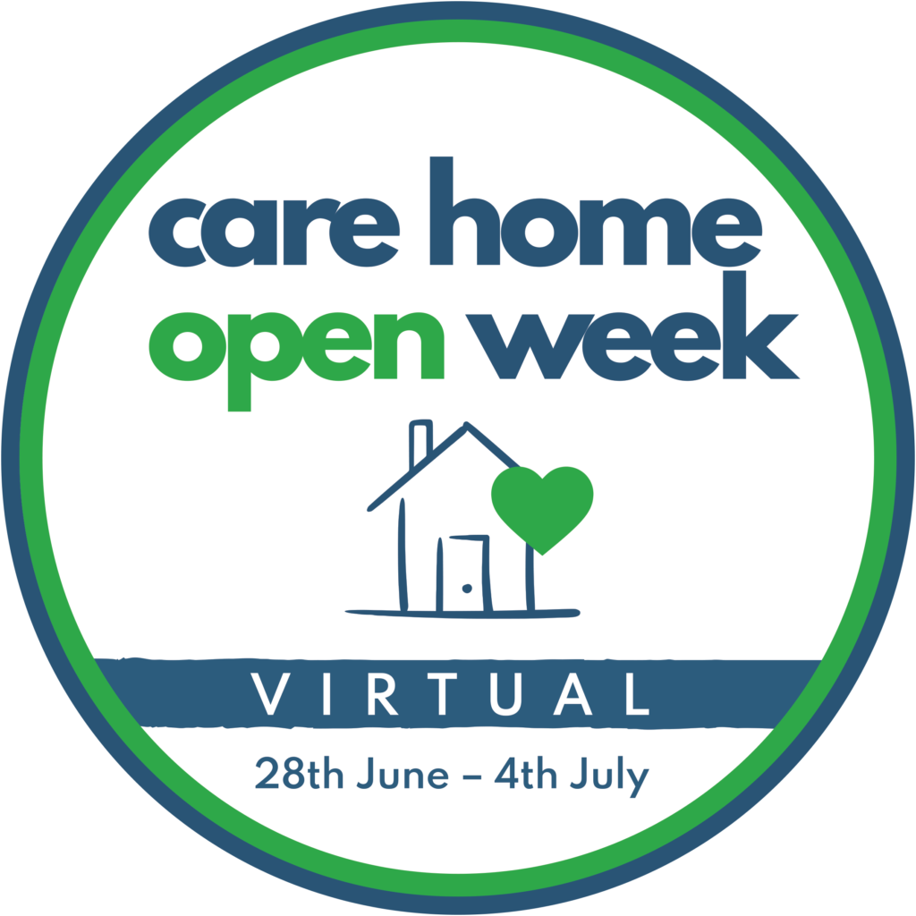 Logo of Care Home Open Week 2021