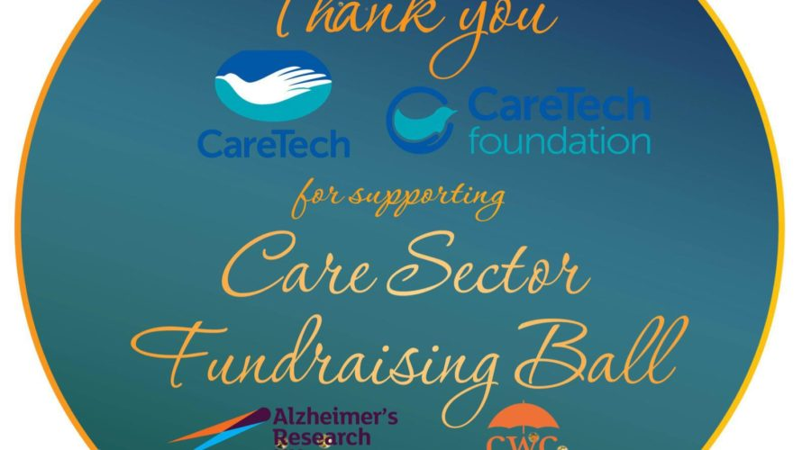 CareTech Foundation supports very first Care Sector Fundraising Ball as headline supporter