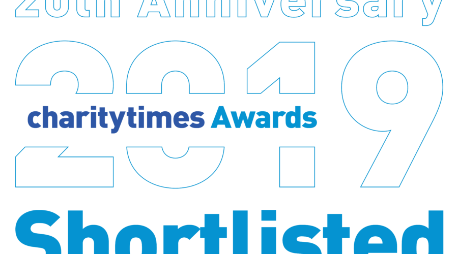 Our Partnership has been shortlisted for the Charity Times Awards 2019